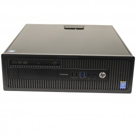 Hp ProDesk 600 G1 Core i5 4590  3,3 Ghz. 16 Gb 256 Gb SSD 500Gb Dvdrw Win 10  Pro Tec. & Rat.