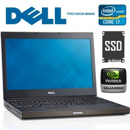 "DELL Precision M4800 Core i7 4810MQ  2.8 GHz. 32 GB 256GB SSD + 500GB  15.6""  N.Quadro K2100M  Win 10 Pro"