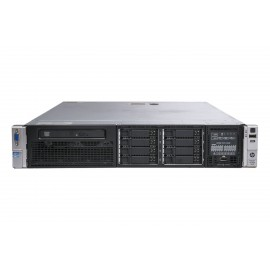 Hp ProLiant DL380p G8 Bipro Xeon Quad-Core E5-2609 2.4 GHz  64 GB 3 x 480 GB SSD 2 x Psu Win Server 2016 STD J. Guias